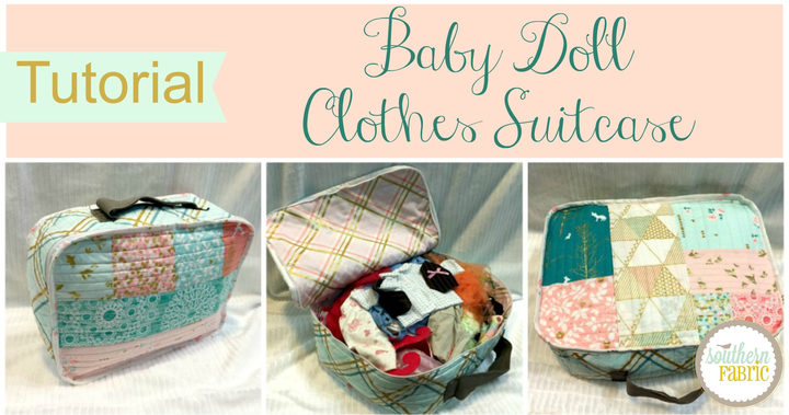 baby doll clothes suitcase