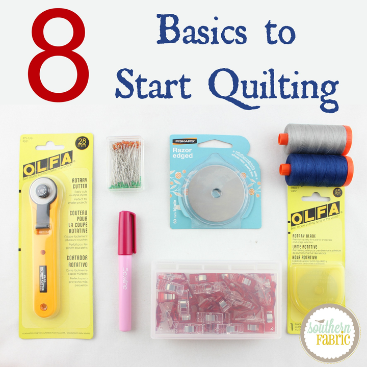 8 Basics to Start Quilting