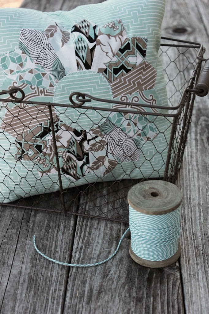 Fabric Plate Warmer ~ Of our favorite scrap fabric ideas southern