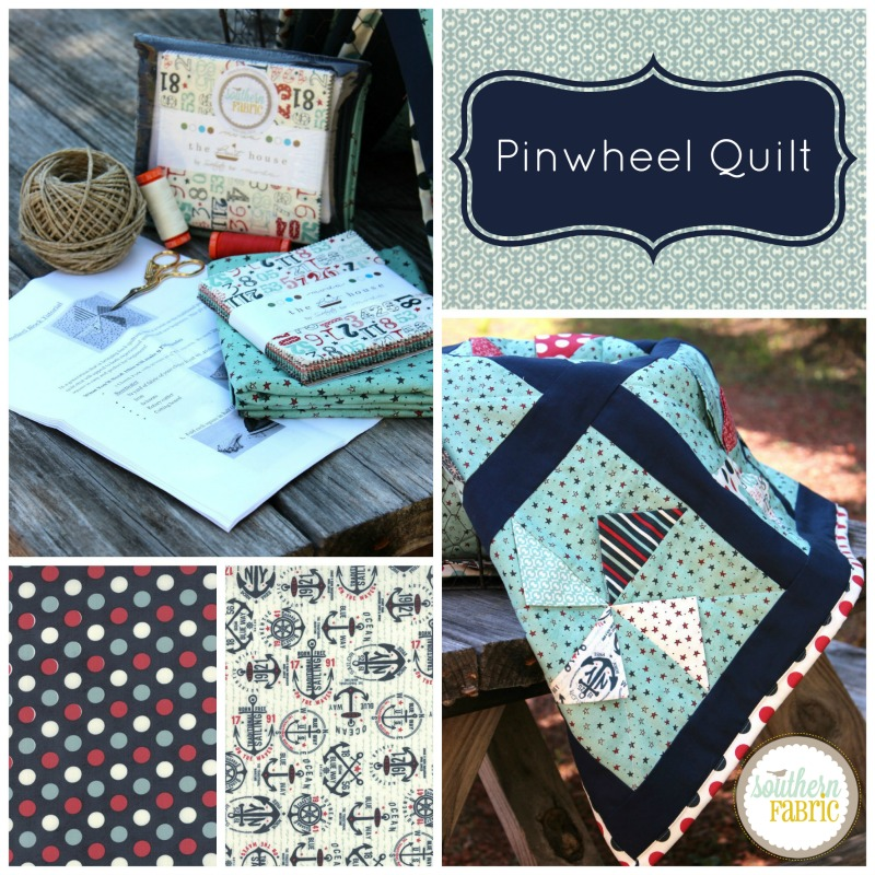 Pinwheel Quilt Collage 2