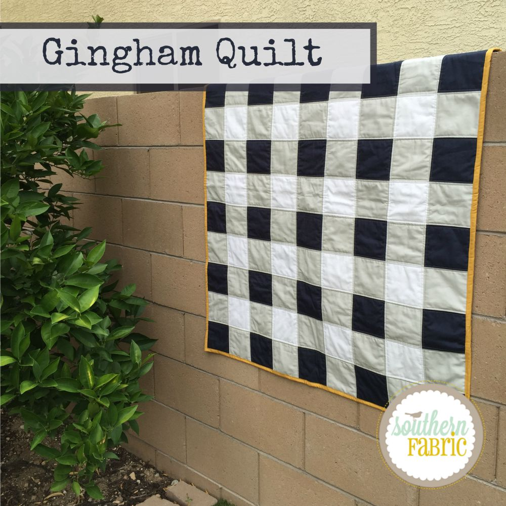 Gingham Quilt | Southern FabricSouthern Fabric